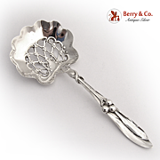 Mistletoe Bon Bon Candy Spoon Whiting Sterling Silver