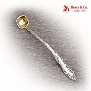 Old English Mustard Ladle 1892 Towle Sterling Silver