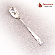 Carthage Olive Spoon Wallace 1917 Sterling Silver