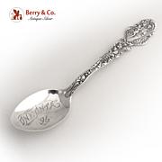 Versailles Coffee Spoon Gorham 1885 Sterling Silver