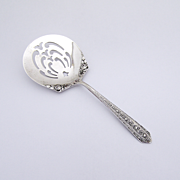 Normandie Bon Bon Candy Spoon Wallace Sterling Silver