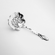 Holly Bon Bon Candy Spoon Whiting Sterling Silver