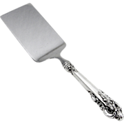 Grande Baroque Lazagna Server Wallace Sterling Silver
