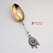 Aesthetic Pudding Spoon Coin Silver 1870