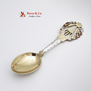 Michelsen Christmas Spoon 1922 Sterling Silver