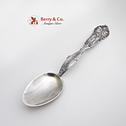 Lewis And Clark Portland Oregon Souvenir Spoon Sterling Silver 1910