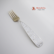 Christmas Fork 1945 Michelsen Sterling Silver