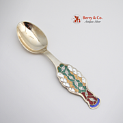 Christmas Spoon 1996 Michelsen Sterling Silver
