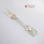 Christmas Fork 1938 Michelsen Sterling Silver