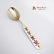 Danish Pixie Christmas Spoon 1957 Michelsen Sterling Silver