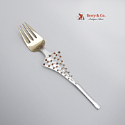Christmas Fork 1965 Michelsen Sterling