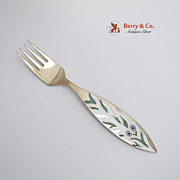 Christmas Fork 1970 Michelsen Sterling