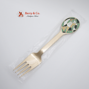 Christmas Fork 1980 Michelsen Sterling