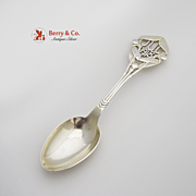 1918 Michelsen Christmas Spoon Sterling Silver