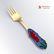 Christmas Fork 1994 Michelsen Sterling