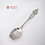 St Paul Church Virginia Souvenir Spoon Sterling Silver Watson