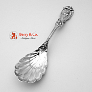 Francis I Shell Sugar Spoon Sterling Silver Reed And Barton 1908