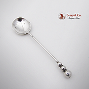 Swedish Master Salt Or Demitasse Spoon 830 Silver