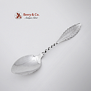 Feather Edge Teaspoon 1900 Sterling Silver