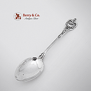 Floral Series Number 4 Teaspoon Watson Sterling Silver