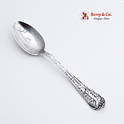Train Handle Teaspoon Sterling Silver Watson
