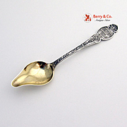 Epworth Souvenir Citrus Spoon Sterling Silver Durgin 1891