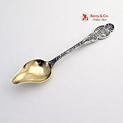 Epworth Souvenir Citrus Spoon Sterling Silver Durgin 1891