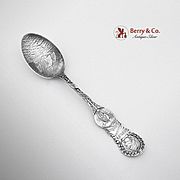 World`s Columbian Exposition Souvenir Spoon Sterling Silver Alvin