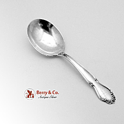Wedding Bells Baby Spoon Sterling Silver Rodgers International 1948