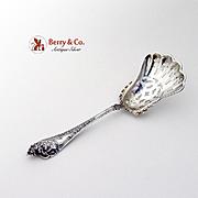 Cherub Almond Scoop Sterling Silver Watson 1895