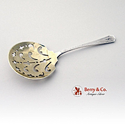 Fairfax Bon Bon Candy Or Nut Spoon Sterling Silver Durgin 1910