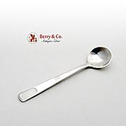 Michelsen Salt Spoon Sterling Silver Enamel 1930