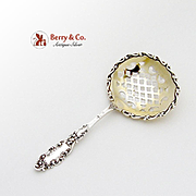 Luxembourg Bon Bon Candy Or Nut Spoon Sterling Silver Gorham 1893