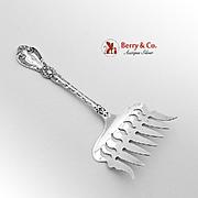 Orient Sardine Serving Fork Sterling Silver Alvin 1910