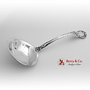 Old Master Gravy Ladle Sterling Silver Towle 1942