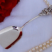 Bon Bon Spoon  Harlequin Sterling Silver Reed And Barton