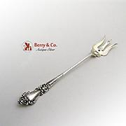 Aesthetic Sardine Fork Sterling Silver 1900