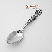 Scorpio Zodiac Souvenir Spoon Sterling Silver Wallace 1900