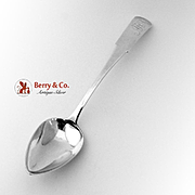 Tablespoon Coin Silver Clement Beecher 1805