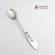 Miniature Spoon Sterling Silver Joseph Gloster 1896