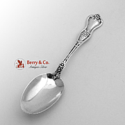 Grape Teaspoon Sterling Silver Dominick Haff 1895