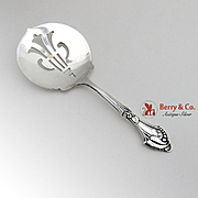 Blossom Bon Bon Candy Nut Spoon Sterling Silver Webster 1940