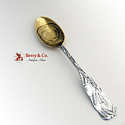 Pillsburys Best Advertising Souvenir Spoon Sterling Silver Gorham 1900