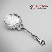 King Edward Bon Bon Candy Nut Spoon Sterling Silver Whiting 1901