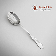 Williamsburg Reproduction Coffee Spoon Sterling Silver Stieff 1960