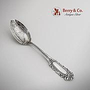 Eugenie John Brown Birthplace Souvenir Teaspoon Sterling Silver Watson 1895