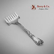 Hanover Sardine Fork Sterling Silver Gorham 1895