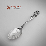 Cupids Nosegay Teaspoon Sterling Silver Unger Brothers 1904