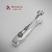 King George Sugar Tongs Sterling Silver Gorham 1894