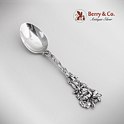 Columbine Coffee Spoon Sterling Silver Paye Baker 1908